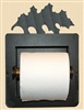 Recessed Toilet Paper Holder- Oak Leaf Design