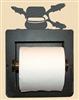 Recessed Toilet Paper Holder- Fly- Rod Fish Design