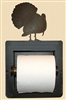 Turkey Design Recessed Toilet Paper Holder