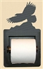 Recessed Toilet Paper Holder- Eagle Design