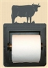 Recessed Toilet Paper Holder- Bull Design
