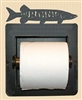Recessed Toilet Paper Holder- Muskie Design