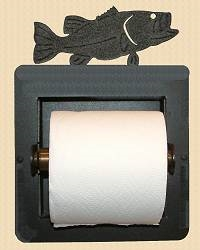 Recessed Toilet Paper Holder- Bass Design