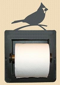 Recessed Toilet Paper Holder- Cardinal Design