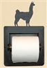 Recessed Toilet Paper Holder- Llama Design
