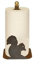 Countertop Paper Towel Holder - Squirrel Design