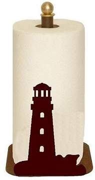 Countertop Paper Towel Holder - Lighthouse Design