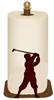 Countertop Paper Towel Holder - Golfer Design