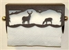 Under Cabinet Paper Towel Holder - Deer Scenery Design
