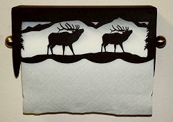 Under Cabinet Paper Towel Holder - Elk Scenery Design