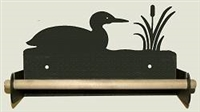 Paper Towel Holder With Wood Bar- Loon Design