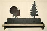 Paper Towel Holder With Wood Bar- Turkey Design