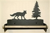 Paper Towel Holder With Wood Bar- Fox Design