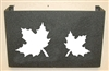 Wall Mount Magazine Rack - Maple Leaf Design