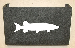 Wall Mount Magazine Rack - Muskie Design