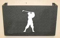 Wall Mount Magazine Rack - Golfer Design