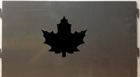 Pick Your Panel Portable Pit- Maple Leaf Design