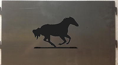 Pick Your Panel Portable Pit- Galloping Horse Design