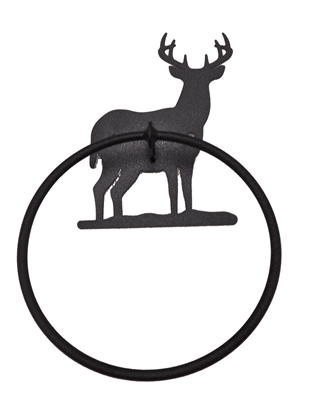 Towel Ring- Deer Design