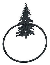 Towel Ring- Tree Design