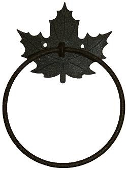 Towel Ring - Maple Leaf Design