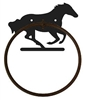 Towel Ring - Galloping Horse Design