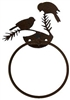 Towel Ring - Chickadee Design