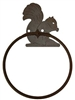 Towel Ring - Squirrel Design