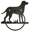 Towel Ring - Lab Retriever Design
