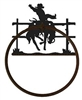 Towel Ring - Bucking Bronco Design
