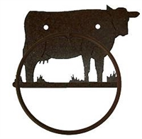 Towel Ring - Cow Design