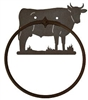 Towel Ring - Bull Design