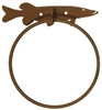 Towel Ring - Muskie Design