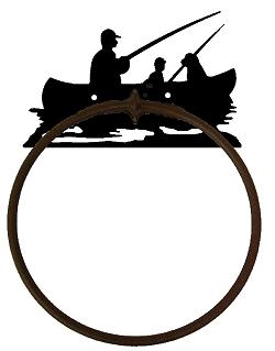 Towel Ring - Fisherman Design