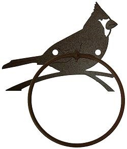 Towel Ring - Cardinal Design