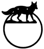 Towel Ring - Fox Design