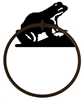 Towel Ring - Frog Design