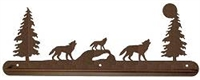Scenery Style Towel Bar- Wolf Design