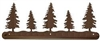 Scenery Style Towel Bar- Pine Tree Design