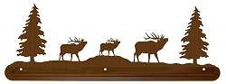 Scenery Style Towel Bar- Elk Design
