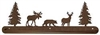 Scenery Style Towel Bar- Moose, Bear, Deer Design