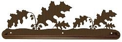 Scenery Style Towel Bar- Oak Leaf Design