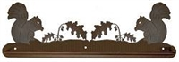 Scenery Style Towel Bar- Squirrel Design