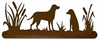 Scenery Style Towel Bar- Lab Retriever Design