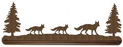 Scenery Style Towel Bar- Fox Design