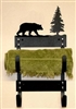 Towel Rack- Bear Design