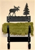 Towel Rack- Moose Design