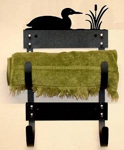 Towel Rack- Loon Design