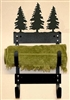 Towel Rack- Pine Tree Design