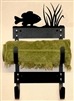 Towel Rack- Pan Fish Design